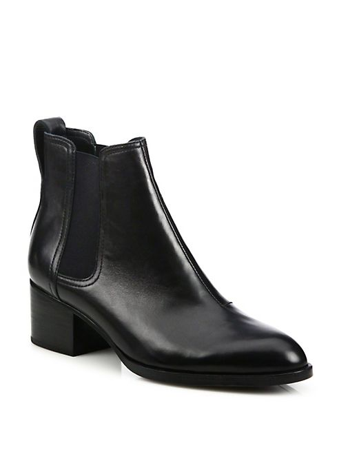 35ff084c68c Rag   Bone - Walker Leather Block Heel Booties