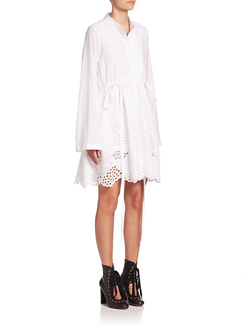 Chloé - Pineapple Lace Dress