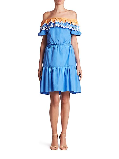 Peter Pilotto - Pallas Embroidered Cotton Dress