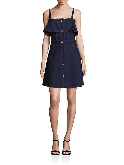 See by Chloé - Button-Front Denim Dress