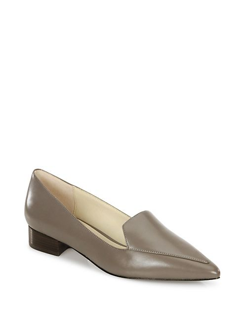 Cole Haan - Dellora Leather Skimmer Flats