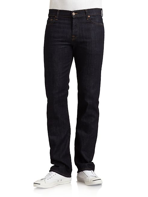 7 For All Mankind - Standard' Straight Leg Jeans